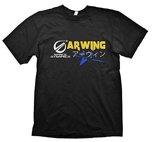 Arwing Fach Dynamik t-shirt inspiriert von Starfox