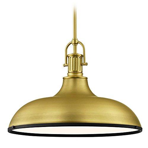 Brass Pendant Porch Light - 9