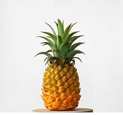 xdobo Realistic Artificial Fruits Fake Pineapple for Display High Simulation Artificial Dummy Fruits Vegetables Studio Photo Prop DIY Decoration Accessories Artificial Food Toys by xdobo