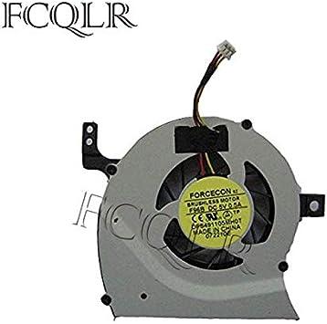 FCQLR Ordenador portátil Ventilador para Toshiba Satellite L645-SP4163M L645-SP4138L CPU Ventilador: Amazon.es: Electrónica