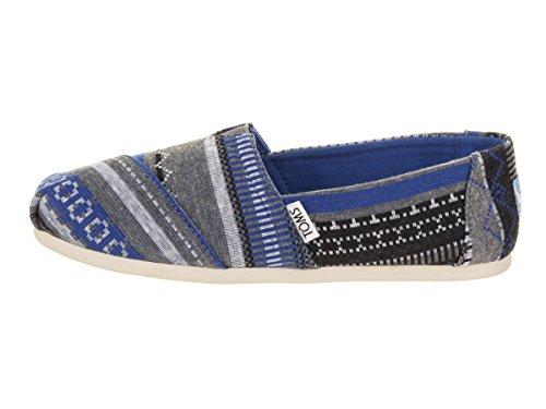 Alpargatas 1001A07 Nautical Jersey Blue Toms Tribal Classics Hombre FBwEqx7zx