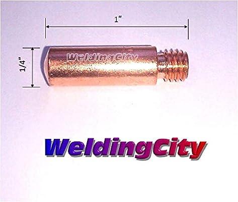 "25-pk 11-23 .023/"" MIG Welding Contact Tips for Tweco Mini//#1"