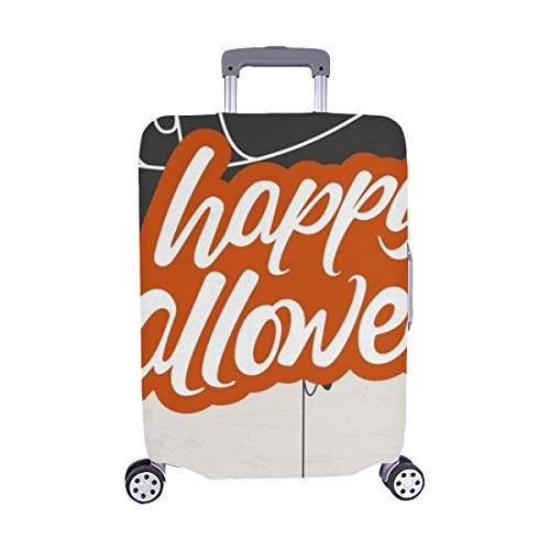 Creative Scary Halloween Celebration Happy Spandex Trolley Case Travel Luggage Protector Suitcase Cover 28.5 X 20.5 Inch]()