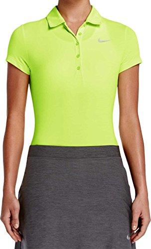鳴り響くジャベスウィルソン歯ナイキ トップス シャツ Nike Women's Precision Heather Golf Polo Volt [並行輸入品]