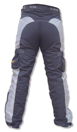 Touring Magnesium (New FAMMZ FT52 Motorcycle Textile Touring Pants (30, Black))