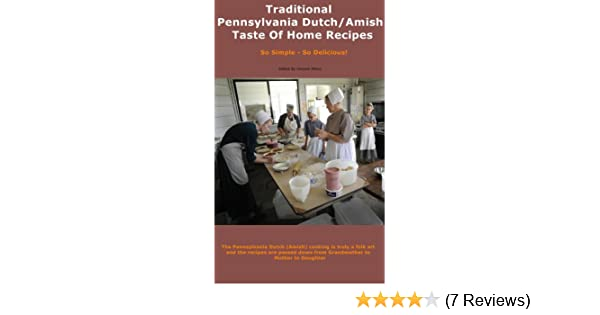 Traditional Pennsylvania Dutch/Amish Taste Of Home Recipes