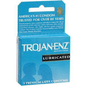 Special pack of 5 TROJAN ENZ LUB 93050 3 per pack