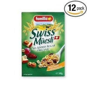 Familia Cereal No Sugar - 12 Oz Pack - 12 Case