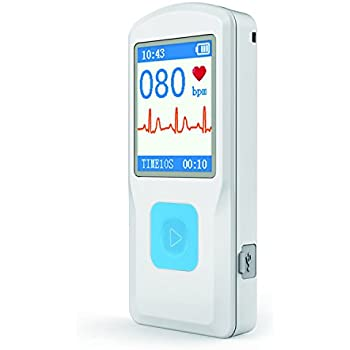 SplendCare Portable ECG & EKG Monitor (Mac is not compatible)