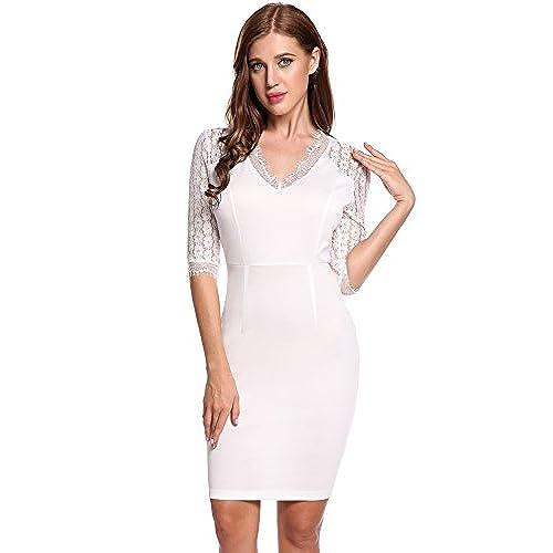 Short White Elegant Prom Dresses: Amazon.com