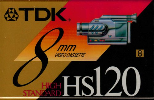 TDK P6120MP 8mm MP Premium Video Tape by TDK