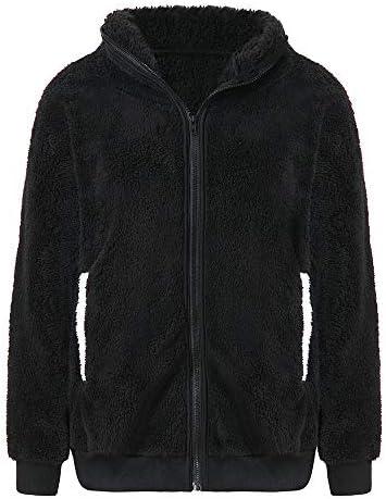 Ularam Womens Panda Hoodie Cute Faux Fur Fleece Fluffy Full Zipper Coat Jacket Sweaters for Teen Girls Winter Plus Size / Ularam Womens Panda Hoodie Cute Faux Fur Fleece Fluffy Full Zipper Coat Jacket Sweaters for Teen Girls Winter...