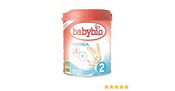 Leche continuación Primea 2 (6 a 12 meses) Babybio 800 g