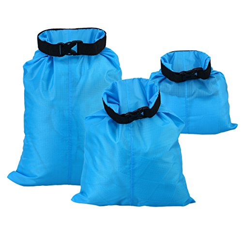 3pcs Waterproof Dry Bags Storage Dry Sack Hiking Camping Kayaking 1.5L 2.5L 3.5L
