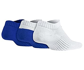 Nike No Show - Calcetines 3P YTH CTN Cush W Moi: Amazon.es: Zapatos ...