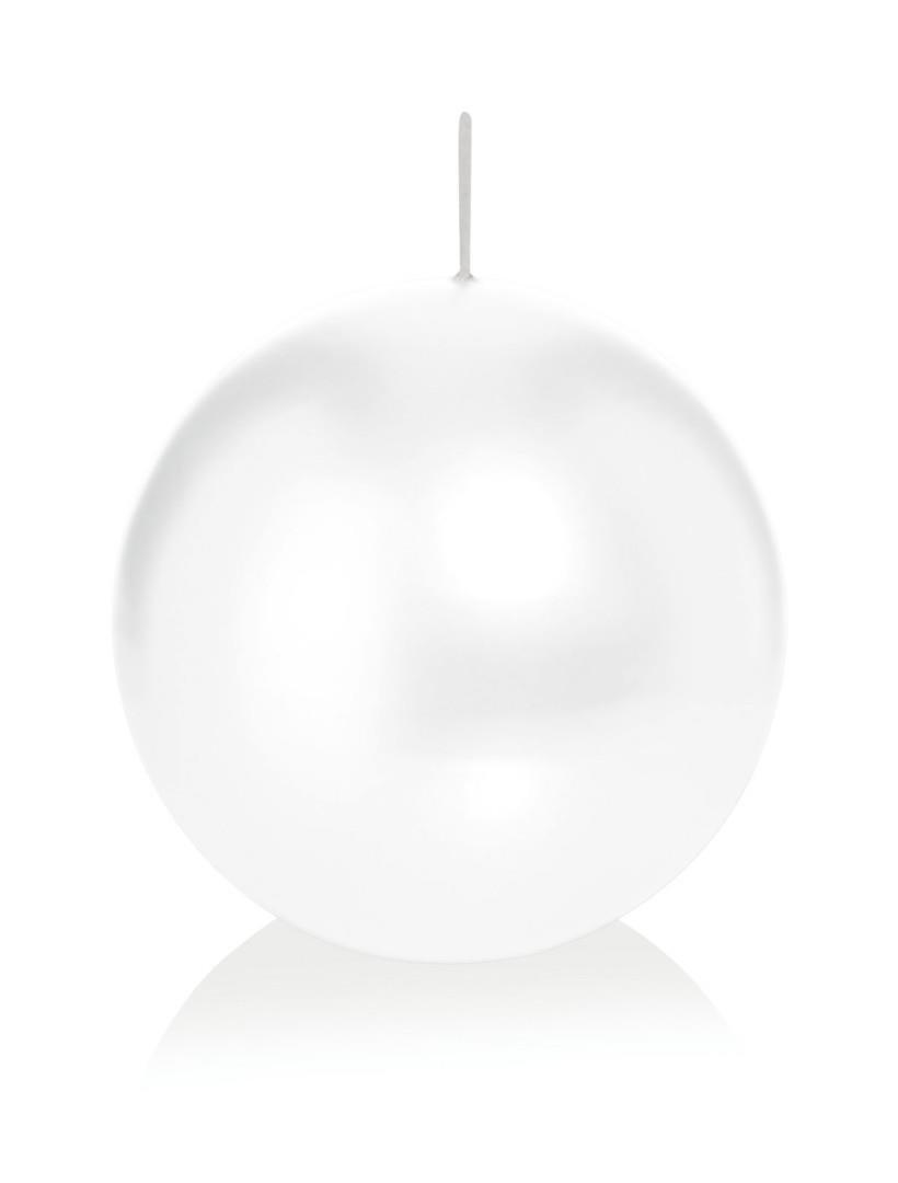WIEDEMANN Ball Candle Wax, White, 6x 6cm, 16Units