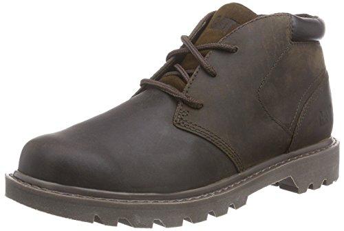 Cat Footwear Stout, Polacchine Uomo Marrone (Braun (Mens Brown))