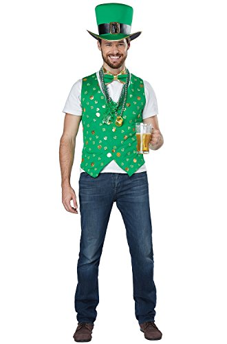 California Costumes Men's Luck of The Irish Kit Adult Woman Costume, Green, Large/XLarge