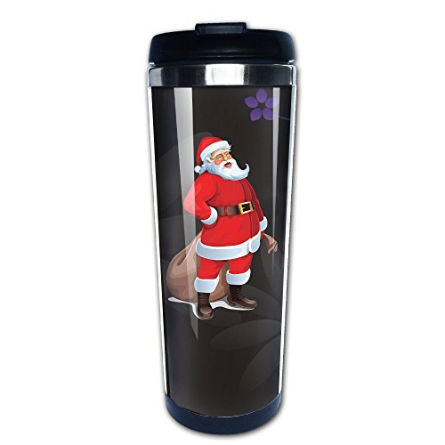 WILLIE Christmas Santa Claus Coffee Mug Travel Mug Vacuum Cup Insulated Mug Stainless Steel Mug For Home School Gym Excise Office And Outdoor - The At Outlets Anthem