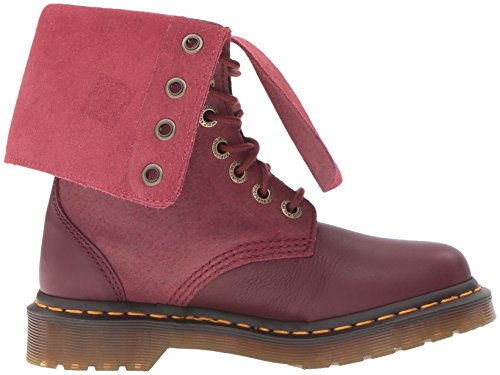 Dr. Martens Hazil Cherry Red Virginia 20346600, Stivali
