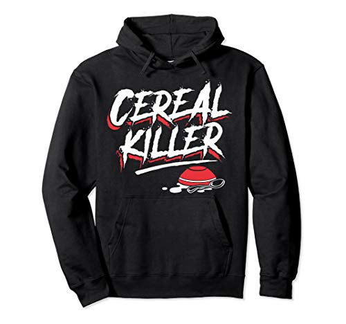 Funny Halloween Costume Hoodie - Cereal Killer ()