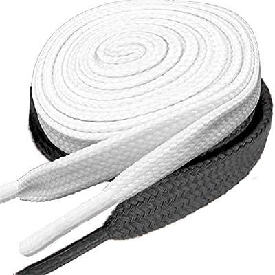 2 Pair Flat Shoelaces 5/16