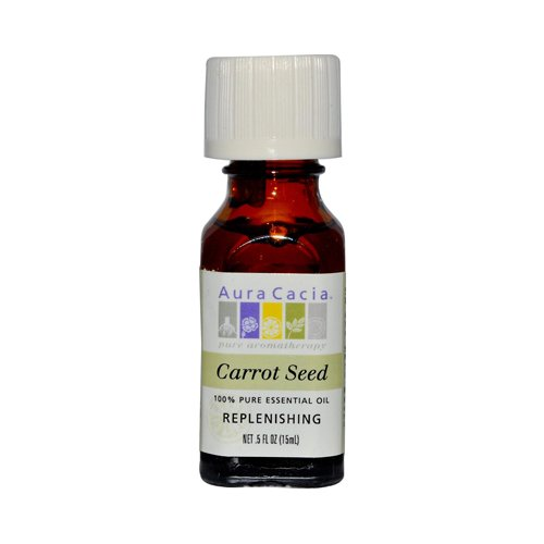 海外直送品Aura Cacia Essential Oil Carrot Seed, (daucus carota) 0.5 Fl Oz (Pack of 4) B00A1MWDUW