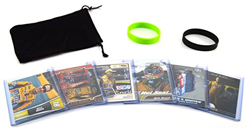 Kyle Busch (6) Assorted Racing Cards Bundle - NASCAR Sprint Cup Series Trading Cards No. 18 ()