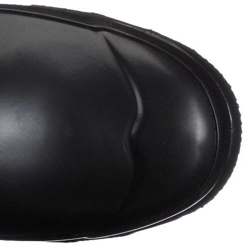 Hunter Original Short Gloss, Botas de Agua Unisex Adulto Negro (Black BLK)