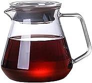 Jarra Vidro Borossilicato Chá Água Café 600ml Barista