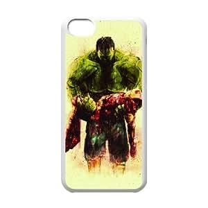 iPhone 5c Cell Phone Case White Hulk And Iron Man Eycsm