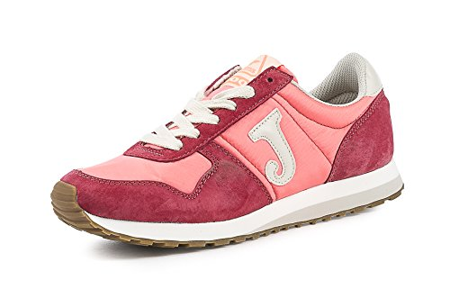 C200LW607 Joma Sneakers Mujer Gamuza Rojo Rojo