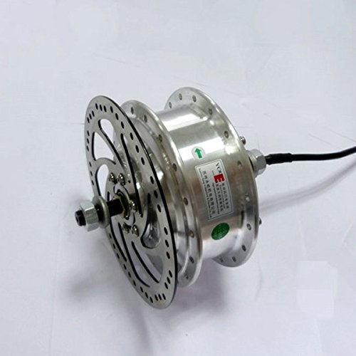 L-faster 24V 36V 48V 250W Electric Bicycle Brushless Motor YOUE Hub Motor for Electric Bike Front Wheel Motor Can with Brake Disc Rotor