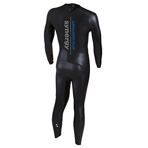 Triathlon Wetsuit 5/3mm Men's Synergy Endorphin Fullsleeve Smoothskin Neoprene for Open Water Swimming Ironman Approved