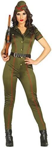 Disfraz de militar antiguo para mujer - M by Guirca: Amazon.es ...