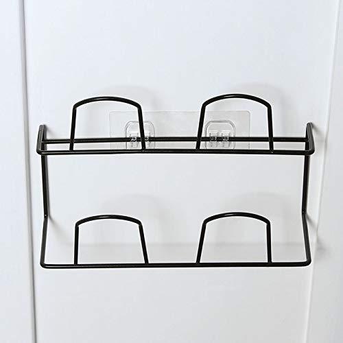 CHLCH Zapatilla de baño Rack Baño Sencilla Puerta ...