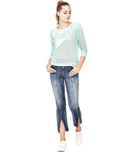 Camiseta Mujer Lia Verde W82r20 Z1yf0 Guess qYORa