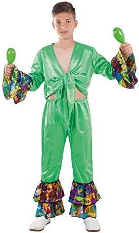 DISBACANAL Disfraz de Rumbero Caribeño para niño - -, 4 años ...