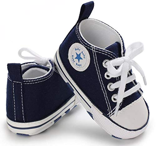 Auxma Stivaletti bambini blu Blau 0-6 Monat Femmina Scarpine prima ...