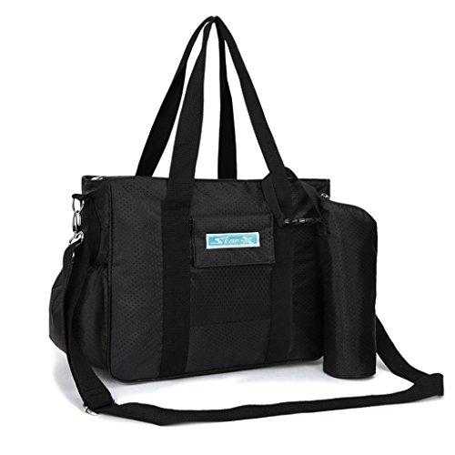Fuera Embarazadas Black Paquete Para Classic Producción Mummy Color Bag Mochila Ser Maternales Multi Alta Capacidad funcional De Diagonal Mujeres Femenina nqAxPwSv1