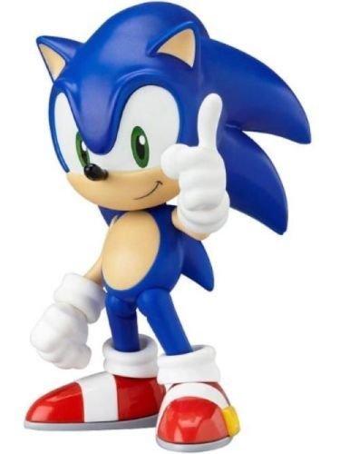 """SHALLEN Details about 4"""" Nendoroid Series Sonic the Hedgehog PVC Figure 214"""