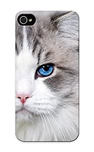 0730bb41600 Cover Case - White Cat With Blue Eyes Protective Case Compatibel With Iphone 5c hjbrhga1544