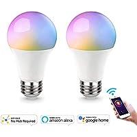 AED Smart Wifi Light Bulb Work With Alexa Goolge Home, No...