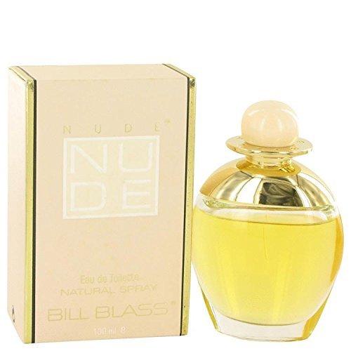 NUDE by Bill Blass Eau De Cologne Spray 3.4 oz for Women - 100% Authentic