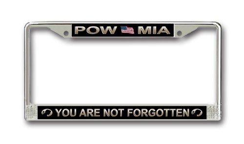 MilitaryBest Prisoner of War POW/MIA License Plate Frame