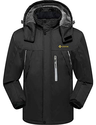 GEMYSE Men's Mountain Waterproof...