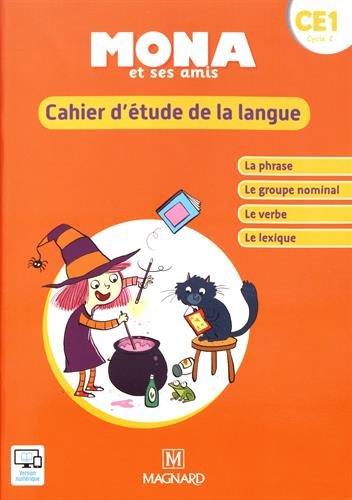 Mona et ses amis CE1 2018 cahier detude de la langue Je lis avec Mona: Amazon.es: Michèle Charbonnier, Nathalie Chatry: Libros en idiomas extranjeros
