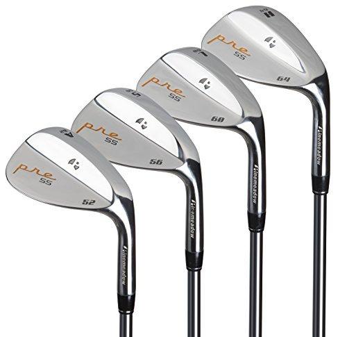 Pinemeadow Golf Men s Pre 4 Wedge Set, Right Hand, Steel, Regular, 52, 56, 60, 64