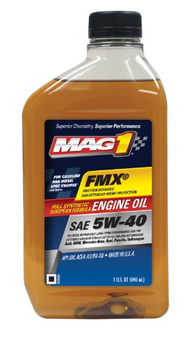 MAG1 62836-6PK FMX SAE 5W-40 Full Synthetic European Formula Engine Oil - 32 oz, (Pack of 6)
