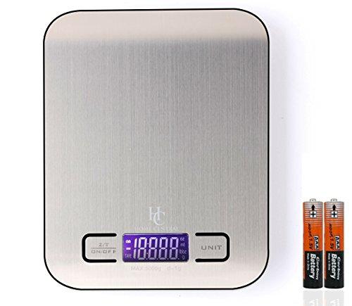 Home Central Digital Kitchen Food Scale 5kg/11lb